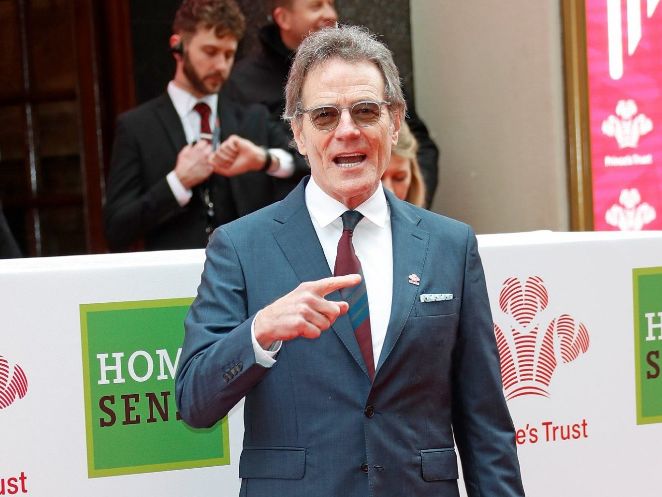 LONDON, ENGLAND - MARCH 06: Bryan Cranston attends 'The Prince's Trust' and TKMaxx with Homesense Awards at The London Palladium on March 6, 2018 in London, England. (Photo by David M. Benett/Dave Benett/Getty Images)