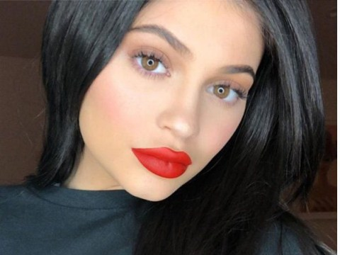 Kylie Jenner wears ring on wedding finger that features Travis's initials