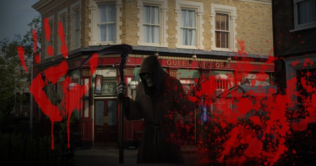 EastEnders to air a violent death