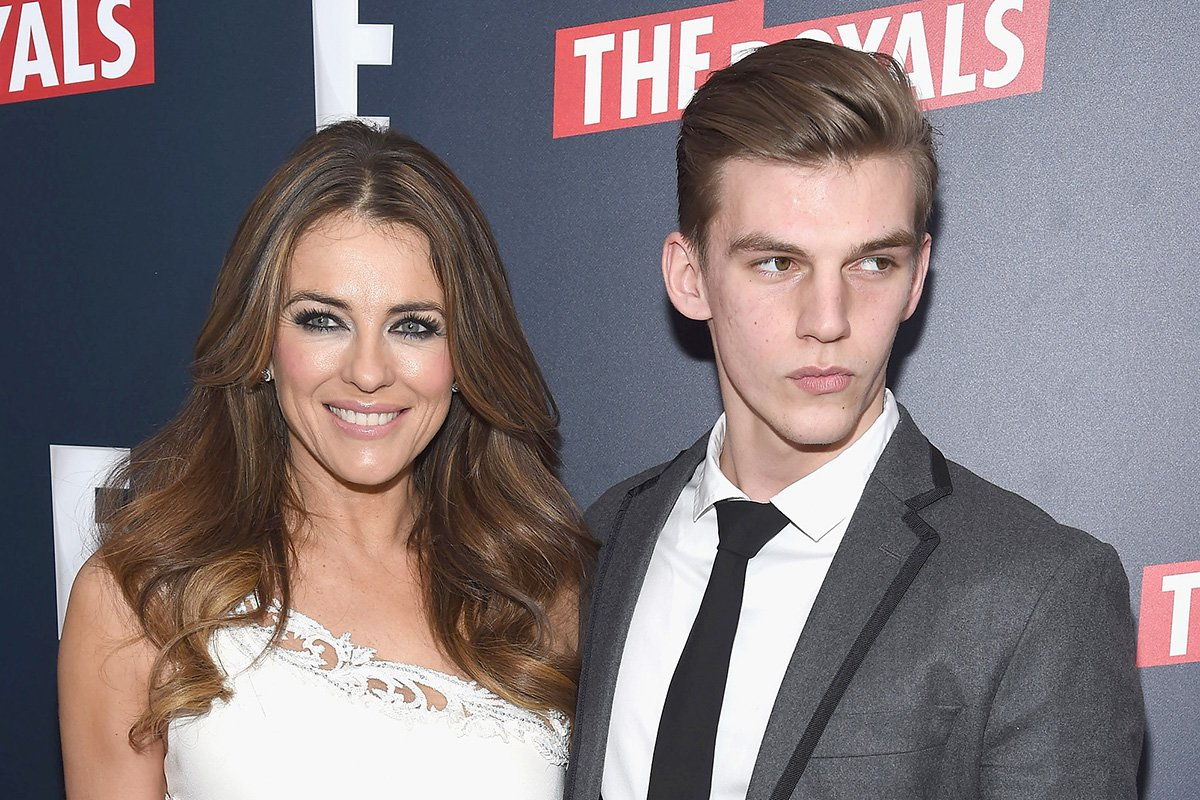 Elizabeth Hurley reveals her nephew has lost more than four pints of blood after street stabbing