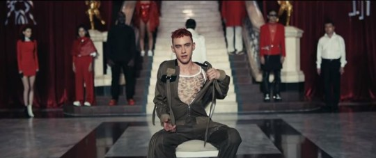 New Years and Years song is about straight men who experiment with gay sex