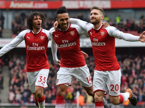 Arsenal show some 'cojones' at last as Gunners stroll to win against Troy Deeney's Watford