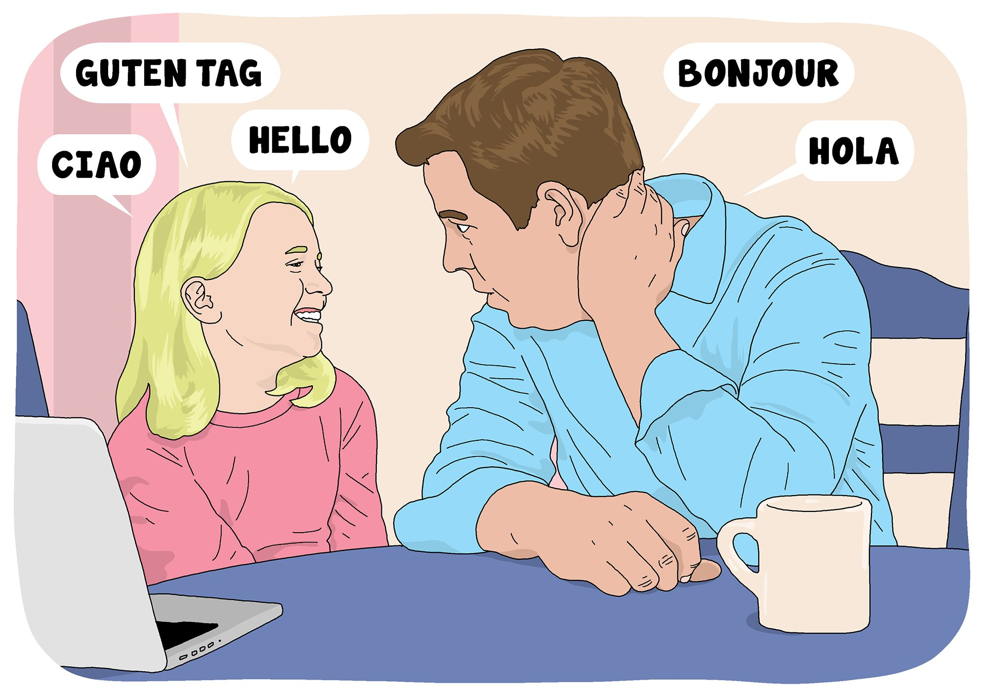 How to teach your kids languages at home Picture: Dave Anderson for Metro.co.uk