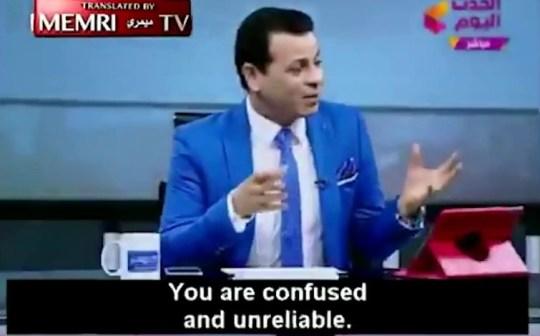 Atheist kicked off TV