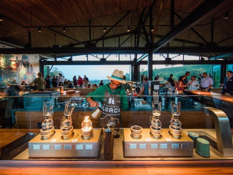 You can now visit Starbucks' coffee farm in Costa Rica