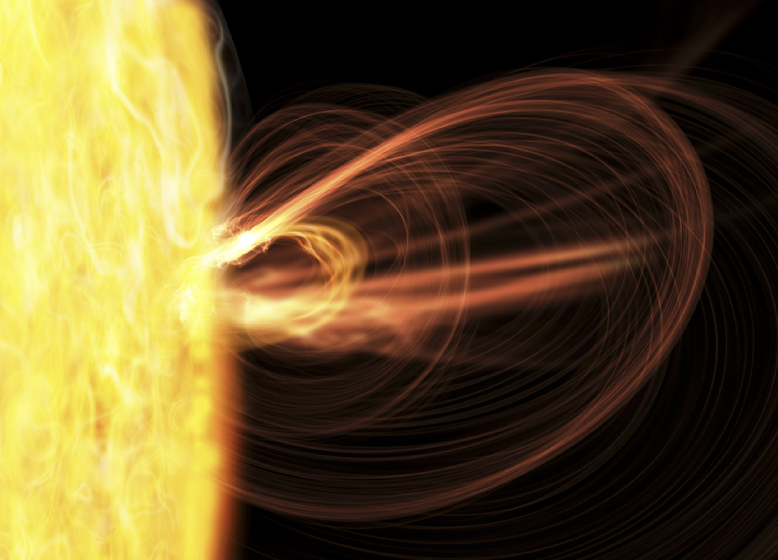 A huge solar storm is heading our way and gigantic 'cracks' are opening up in Earth's magnetic field