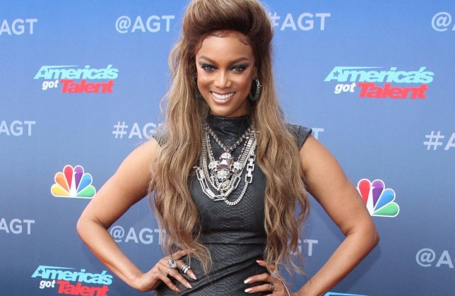 Season 13 America's Got Talent Kickoff - Pasadena Pictured: Tyra Banks Ref: SPL1670783 120318 Picture by: Jen Lowery / Splash News Splash News and Pictures Los Angeles: 310-821-2666 New York: 212-619-2666 London: 870-934-2666 photodesk@splashnews.com