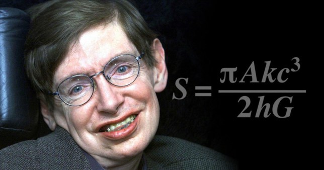 What stephen Hawking wanted on his tombstone