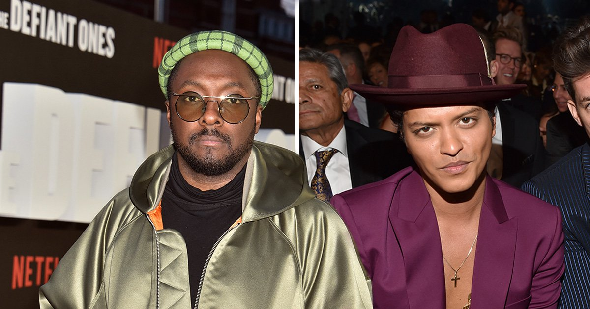 Will.i.am defends Bruno Mars in cultural appropriation debate: 'The point is to have black culture spread'