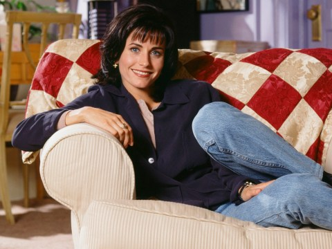 Courteney Cox finally manages to keep Monica's Geller's iconic Friends catchphrase alive for generations to come in adorable toddler