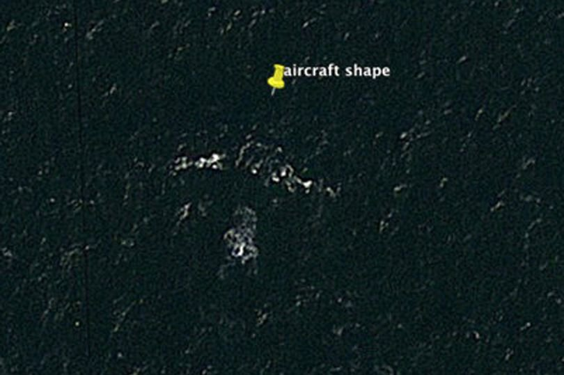 MH370 'found on Google Earth