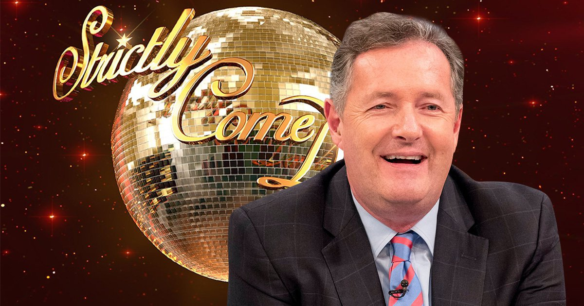 Piers Morgan would say yes to Strictly Come Dancing but only if he can take on BBC rival Dan Walker