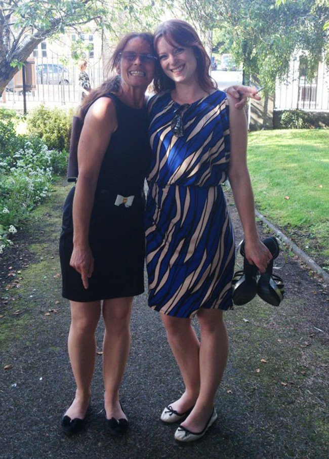 Heather Whitbread, 53, and her daughter Michelle, 32,(both pictured) were shot and killed in St Leonards, East Sussex on Friday night.Picture taken from Michelle Savage's Facebook PAGE WITHOUT PERMISSION