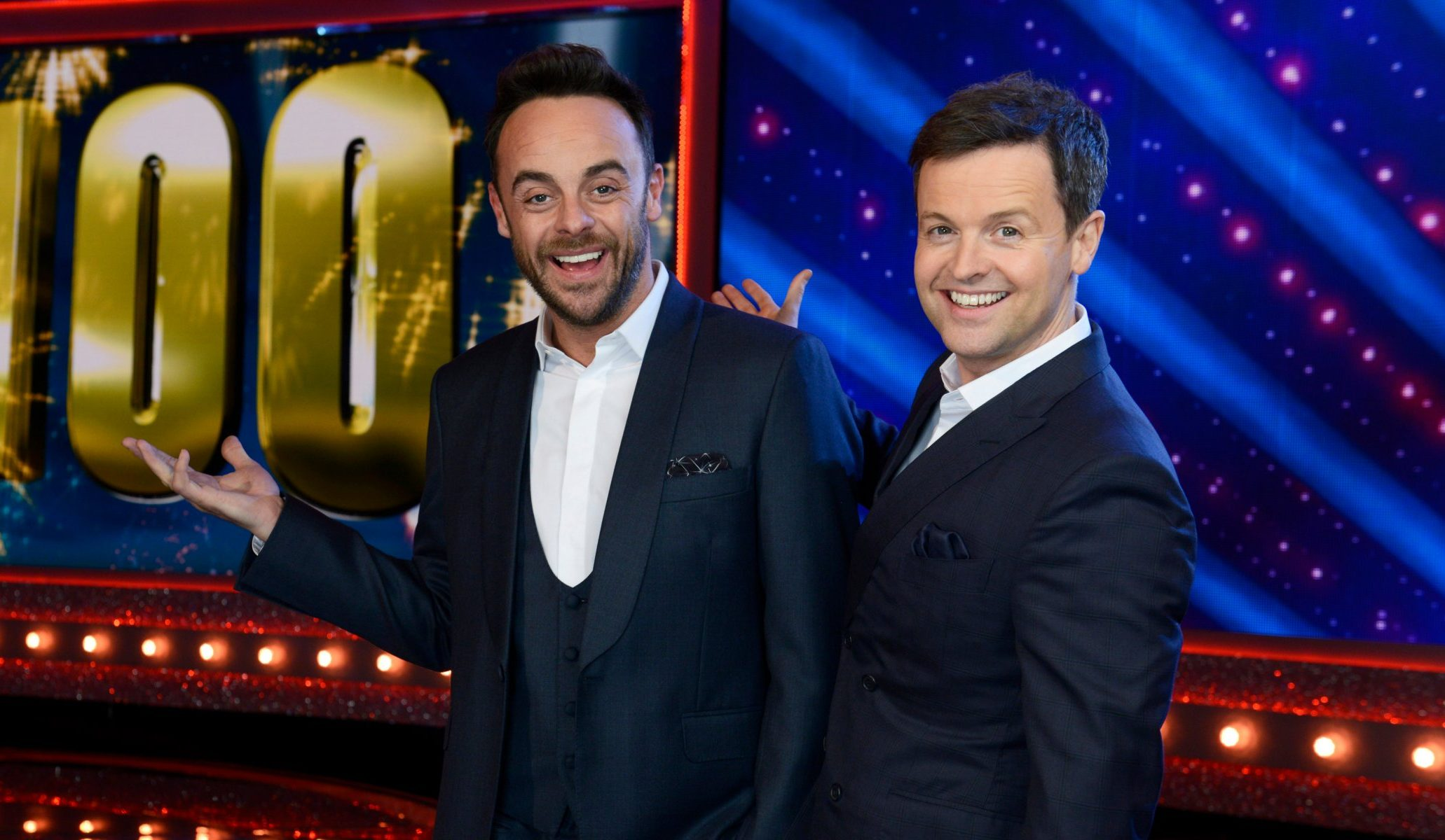 Who is hosting the Saturday Night Takeaway final with Dec and will Ant be back?