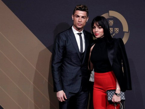 Cristiano Ronaldo's girlfriend Georgina Rodriquez looks stunning on red carpet four months after giving birth