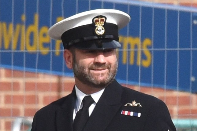 Pictured: Christian Ramsey A drunken sailor got so hammered on free alcohol at a Royal Navy lunch he couldn't carry out his duties at the prestigious Edinburgh Tattoo later that evening, a court martial heard today. Petty Officer Christian Ramsay was due to act as petty officer to the guard at the Royal Edinburgh Military Tattoo, carrying out important ceremonial duties at the renowned event in front of VIP guests. However, the 39-year-old instead spent the ceremony being looked after by a Royal Navy colleague after he got 'seriously drunk' at a military lunch hours before. At the lunch, which included a number of senior guests from armed forces around the world, PO Ramsay 'over-consumed' the free alcohol and became so drunk he 'lost all self-control' and 'embarrassed himself and his colleagues'. SEE OUR COPY FOR DETAILS. ? Solent News & Photo Agency UK +44 (0) 2380 458800