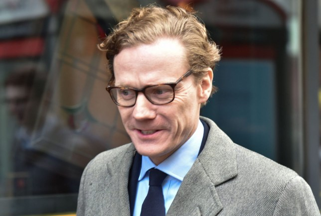 Mandatory Credit: Photo by Matthew Chattle/REX/Shutterstock (9471212h) Chief executive Alexander Nix arrives at the Cambridge Analytica offices. Cambridge Analytica, London, UK. - 20 Mar 2018.