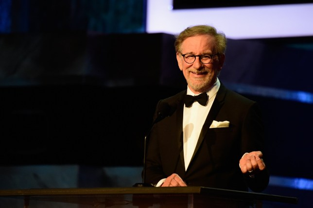 HOLLYWOOD, CA - JUNE 09: Director Stephen Spielberg onstage during American Film Institute?s 44th Life Achievement Award Gala Tribute show to John Williams at Dolby Theatre on June 9, 2016 in Hollywood, California. 26148_001 (Photo by Frazer Harrison/Getty Images for Turner)