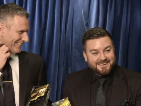 The Last Leg's Adam Hills makes apparent quip at Ant and Dec's expense at RTS Awards