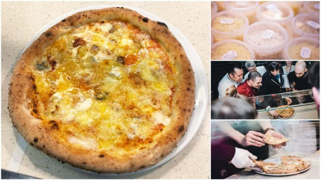 METRO GRAB - taken from the Guinness World Records news site A record-breaking pizza was topped with 111 types of cheese, because dreams come true http://www.guinnessworldrecords.com/news/commercial/2018/3/pizza-with-111-different-types-of-cheese-on-sets-new-world-record-519087 Guinness World Records