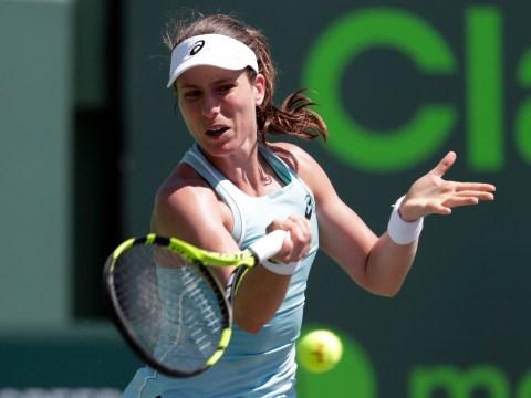 Venus Williams exacts revenge to end Johanna Konta's Miami title defence