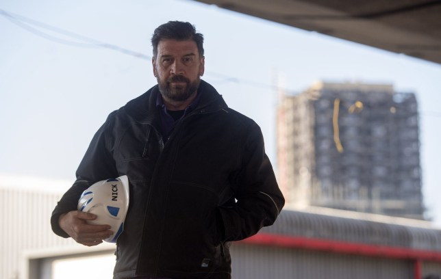 PABest BBC's DIY SOS Nick Knowles on the site of a brand new multi-use community space and gym that his team are building for the Grenfell community on a site underneath the A40. PRESS ASSOCIATION Photo. Picture date: Monday March 26, 2018. Photo credit should read: Victoria Jones/PA Wire