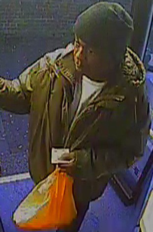 Detectives investigating the sexual assault of an 11-year-old girl in north London have released an image of a man they would like to speak to in connection with their investigation. At approximately 16:20hrs on Thursday, 11 January, the schoolgirl was waiting for a bus on Alder Grove in Dollis Hill, NW2 when she was approached by a man who engaged her in conversation. She boarded a Route 182 bus travelling towards Bannister Playing Fields, and the man followed. The girl stood on the lower deck and the man sat down nearby, attempting to keep the conversation going. Feeling concerned, the girl got off at the following stop (Brook Road), but the suspect again followed. As she walked along Brook Road, he continued behind her before grabbing her and sexually assaulting her. The victim screamed and struggled, before running off. She was chased by the suspect, but luckily he was unable to keep up. Detective Constable Chris Tester, from the Child Abuse and Sexual Offences Command, said: ?The young victim is very shaken by this incident and I would appeal to the public to help us identify the man responsible. Thankfully incidents of this nature are rare, but when they do happen it is understandable that there are concerns. Following the incident, extra patrols have been carried out in the area and the public are asked to report any concerns.? The suspect is described as a black man, over 6ft tall, of medium build, bald, with scars underneath both eyes. He was wearing a gold/yellow jacket and black trousers, and was carrying plastic shopping bags. He spoke with an African accent. Picture: MET Police