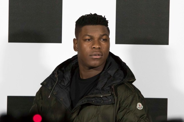 """The """"Stranger Things"""" superstar Mollie Bobby Brown attends the Moncler party in Milano along with many guests for the beginning of the Milano Women Fashion Week. Pictured: JOHN BOYEGA Ref: SPL1662000 210218 Picture by: PMPhoto / Splash News Splash News and Pictures Los Angeles: 310-821-2666 New York: 212-619-2666 London: 870-934-2666 photodesk@splashnews.com"""