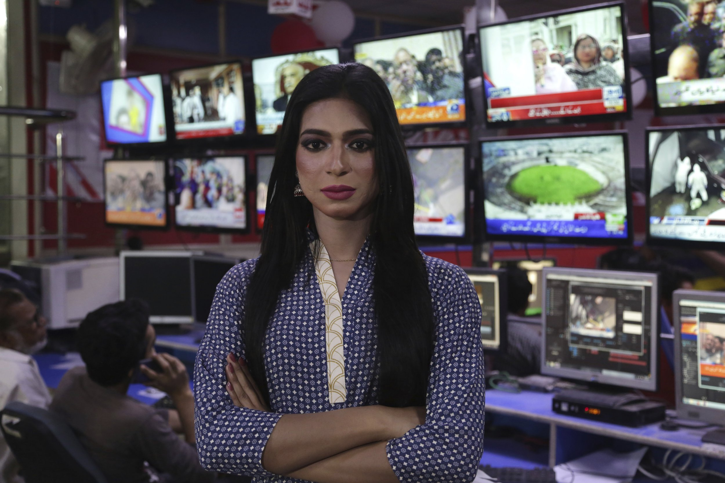 Pakistan just hired its first trans newsreader