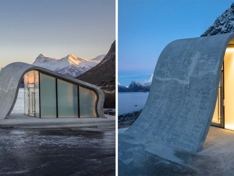Norway opens the world's most beautiful public loo