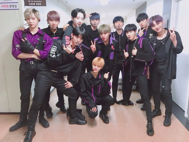 (Picture:Wanna One) K-pop