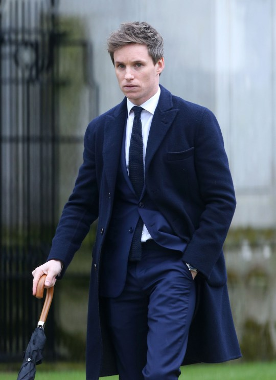 Attends Professor Stephen Hawking funeral at Church of St Mary the Great, The University Church, Cambridge Featuring: Eddie Redmayne Where: London, United Kingdom When: 31 Mar 2018 Credit: WENN