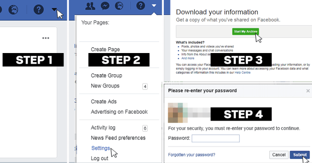 How to download your Facebook photos and delete your account forever