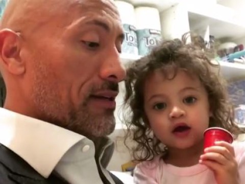 'Something scary happened': Dwayne Johnson thanks doctors after daughter, 2, is hospitalised