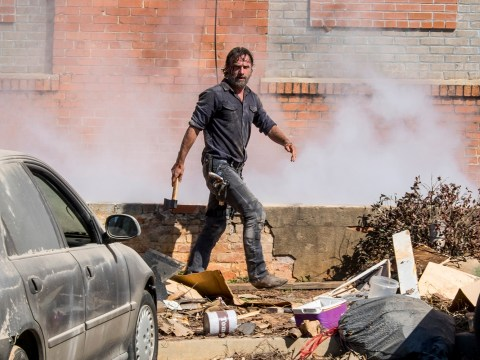 The Walking Dead season 8: First episode 12 pictures see Rick and Negan prepare for war
