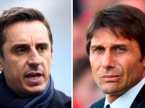 Gary Neville speaks out after Antonio Conte labels him 'stupid' for strong criticism of Chelsea