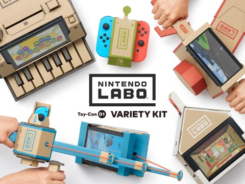 When is the Nintendo Labo release date?