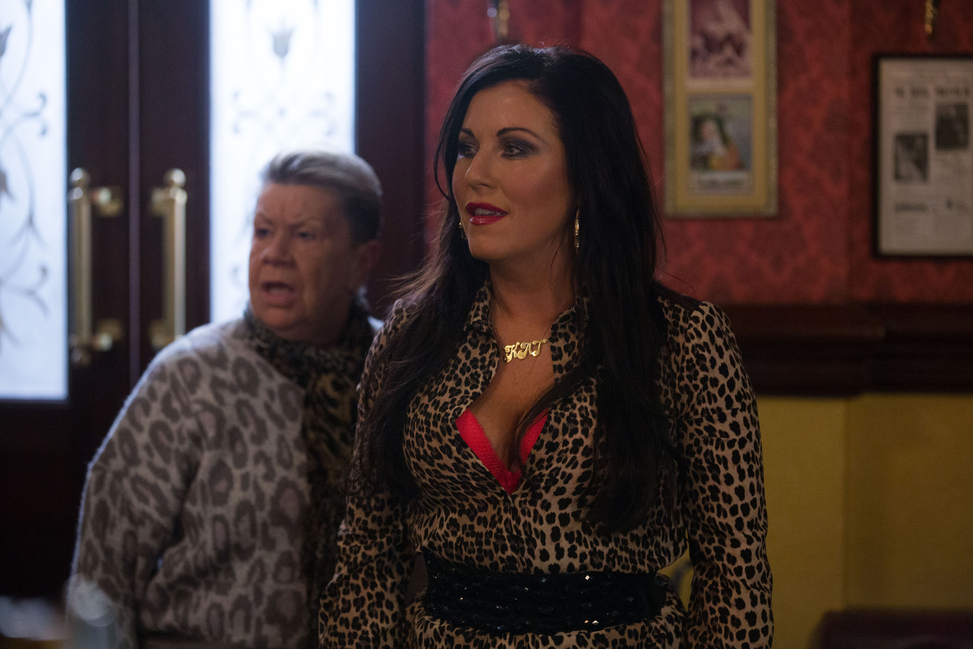 Kat stands up for herself in EastEnders