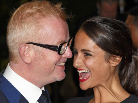 How old is Chris Evans' wife Natasha Shishmanian as she gives birth to twins and how many children does the BBC Radio 2 presenter have?