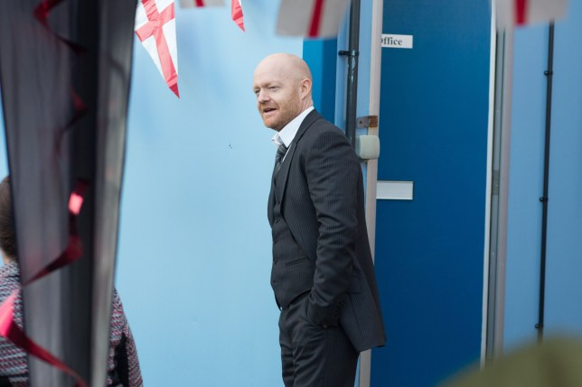 Max returns to EastEnders