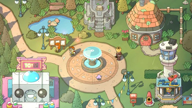 The Swords Of Ditto (PS4) - A Link To The Past brought into the present
