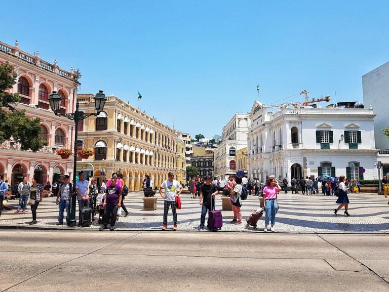 downtown macau