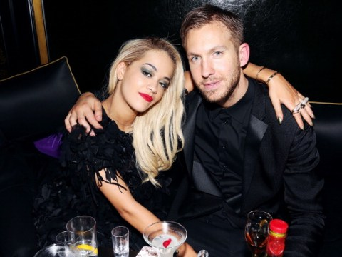 Rita Ora buries hatchet with ex Calvin Harris as she celebrates musical milestone with producer
