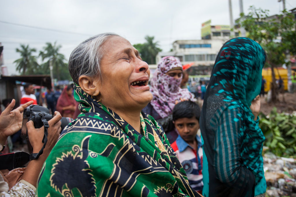 Rana Plaza collapsed five years ago and 1,100 people died for your clothes – remember them