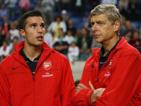 Robin van Persie has message for Arsenal fans following Arsene Wenger announcement