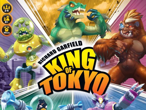King Of Tokyo review – giant monsters on your tabletop