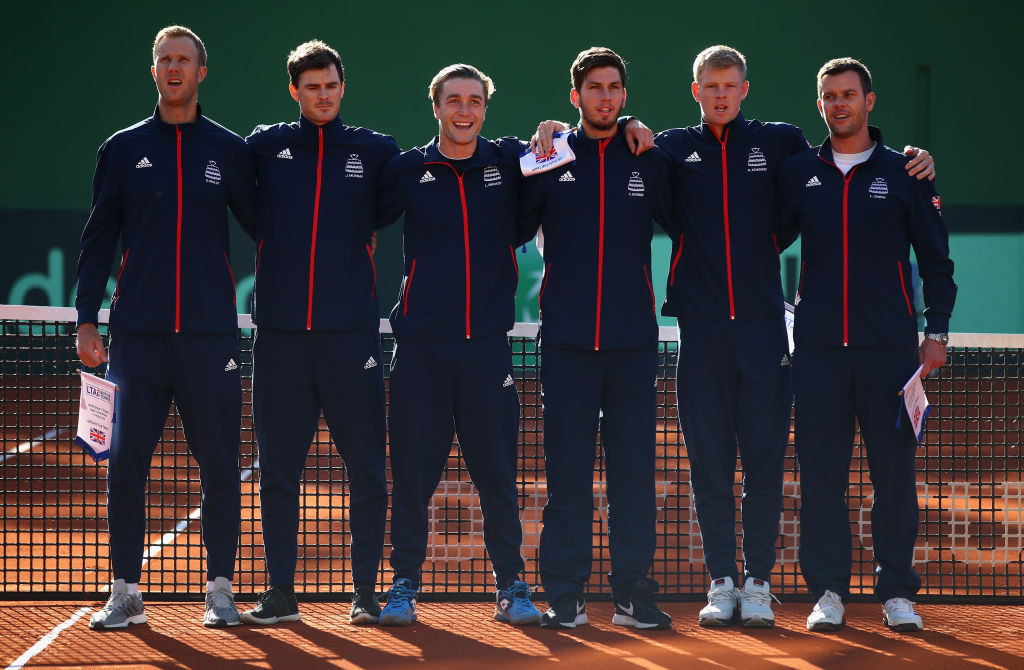 Great Britain to take on Uzbekistan in Davis Cup World Group play-off