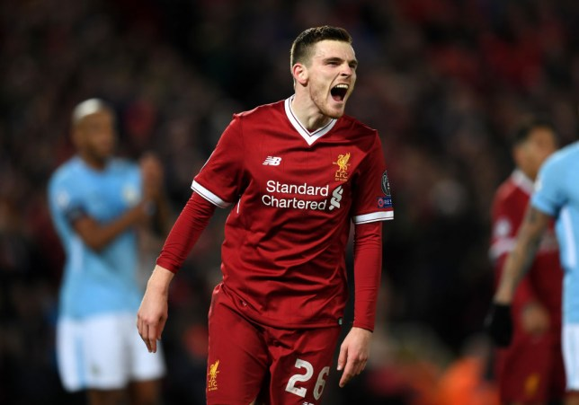 3af951545 Jurgen Klopp says Andy Robertson   Sadio Mane are struggling ahead of Roma  clash