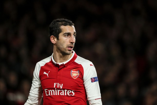 8594658d0 Henrikh Mkhitaryan could return against Atletico Madrid (Picture  Getty)