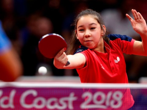 11-year-old Welsh table tennis star Anna Hursey wins first Commonwealth Games singles match